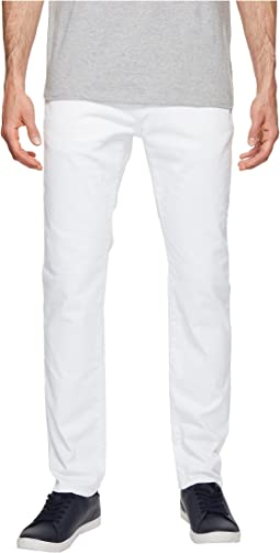 Stretch Slim Fit Jeans in White