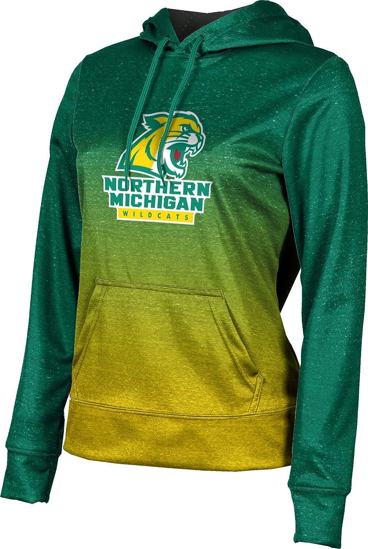 ProSphere Northern Michigan University Girls' Pullover Hoodie, School Spirit Sweatshirt (Ombre)