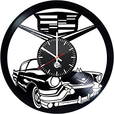 EVEVO Real madrit Reloj de Pared Vinilo Tocadiscos Retro de ...