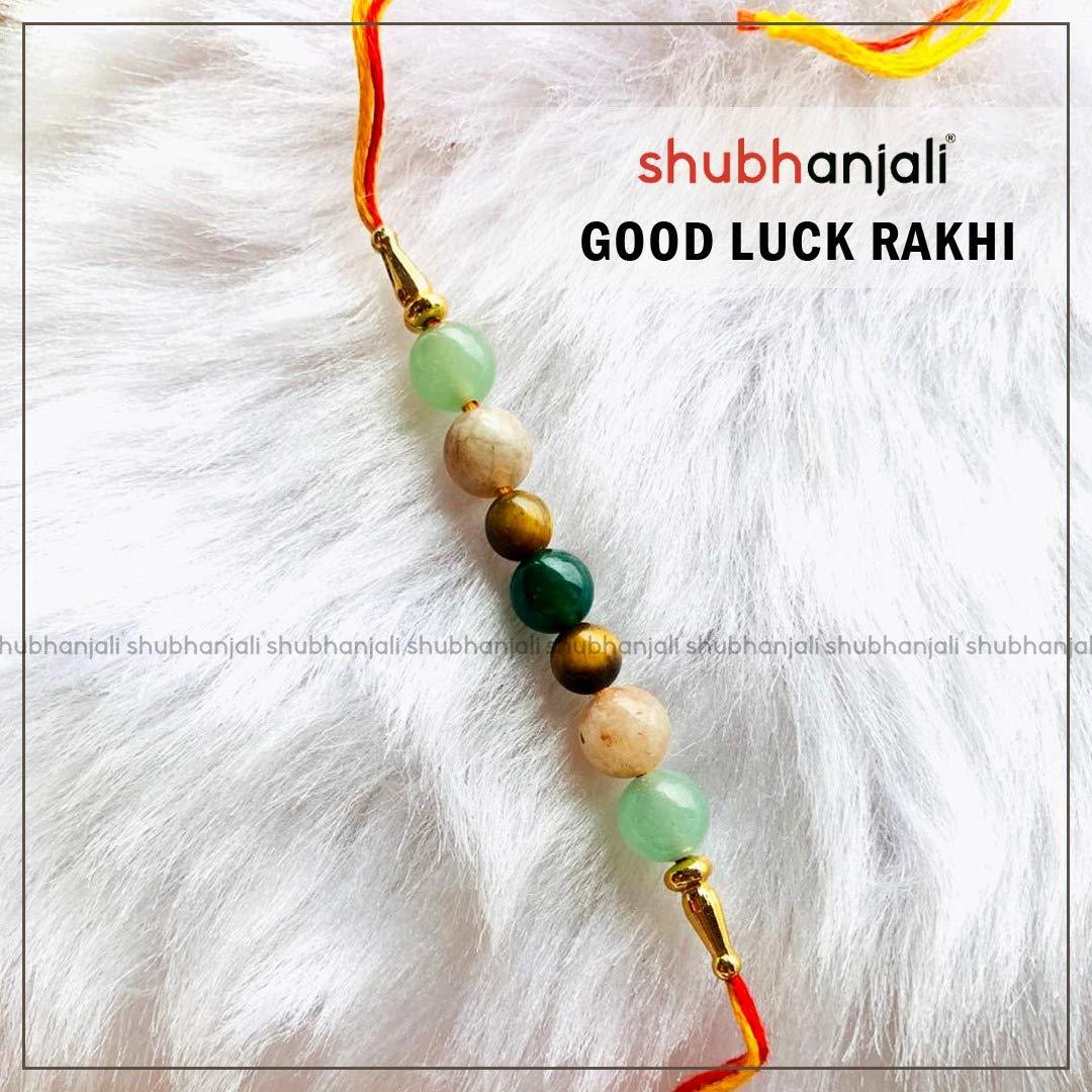 Shubhanjali Customized Good luck Rakhi /Bracelet