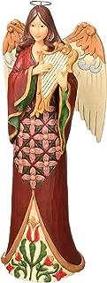 Enesco Jim Shore Heartwood Creek Tall Angel with Harp, Multicolor