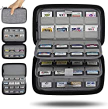 Sisma 64 Game Cartridge Holders Storage Case for Nintendo 3DS 2DS DS Game Cards - Grey