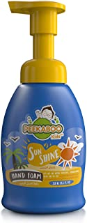 Peekaboo Kids Hand Mousse Foam 4 Fun, Sunshine, 250 ml