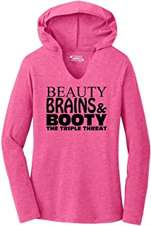Best beauty and brains shirt Reviews