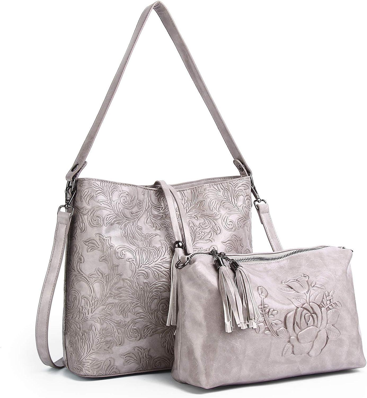 Designer Now on sale Women Handbag Purse Ladies Embossed Large Quality inspection Capacit Totes