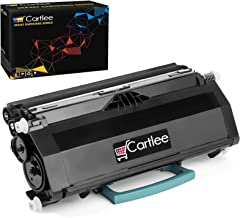 Cartlee Compatible Black High Yield Laser Toner Cartridge Replacement for Lexmark E260 E260d E260dn E360 E360d E360dn E360dt E360dtn E460 E460d E460dn E460dtw E460dtn E460dw E462 E462dtn Printers