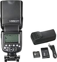 Godox Ving V860II-F Pioneering Camera Flash Speedlite, TTL 2.4G Wireless HSS GN60 Speedlight Flash with Li-on Battery Powered for Fuji Fujifilm DSLR Cameras