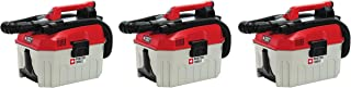 PORTER-CABLE PCC795B 20V MAX Wet/Dry Vacuum, 2 Gallon (Pack of 3)
