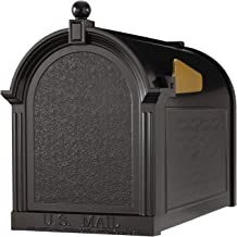 Whitehall Products Capital Mailbox, Black