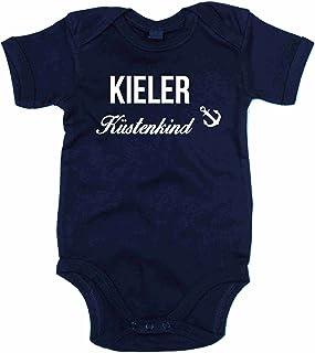 shirtdepartment Baby Body Kieler Küstenkind Bodysuit Strampler Kiel Küste Meer See