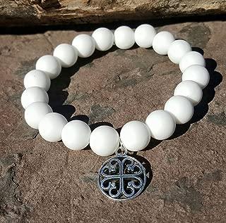 White Silcone Bracelet Bella Cuff not Rustic Cuff Catherine