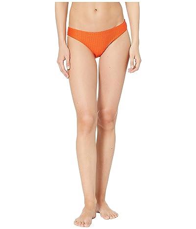 Seafolly La Luna Hipster Bikini Bottom (Tangelo) Women