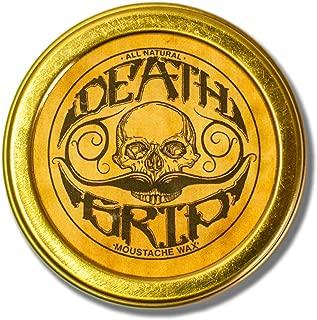 Death Grip Moustache Wax, All-Natural, 1 oz.