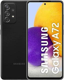 موبايل سامسونج جالاكسي A72 بشريحتين اتصال - شاشة 6.7 بوصة، رام 8 جيجابايت، 256 جيجابايت - اسود