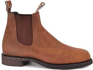 R.M. Williams Men's Gardener Bark Leather Chelsea Boot, Brown Leather Boots, RM Williams Boots, Men's Boots,