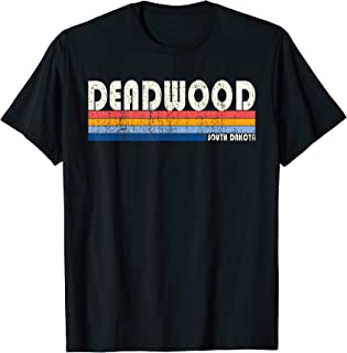 Vintage 70s 80s Style Deadwood SD T-Shirt