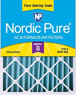 Nordic Pure 18x24x4PBS-1 Pure Baking Soda Air Filters (Quantity 1), 18