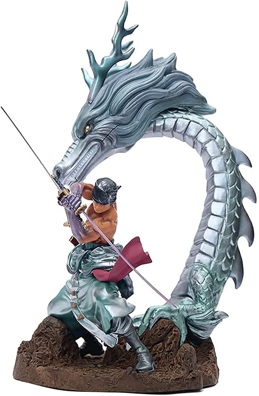 JINGMAI Anime Blue Dragon Roronoa 40% OFF Cheap Sale Ornaments Statue Toy Zoro List price PVC