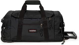 Eastpak Leatherface S + Sac de Voyage, 55 cm, 41 L, Noir (Black)