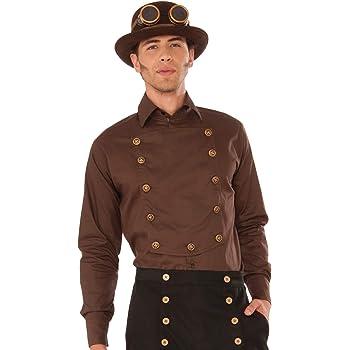 Forum Novelties X76370 Steampunk - Camisa para hombre (42