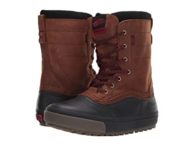 Vans Standard Zip Snow Boot (Brown/Black) Men