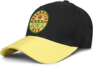 Unisex Ballantine-Ale- Snapback Hats Sun Hat Rock Punk Caps