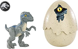 Jurassic World Hatch 'n Play Dinos Velociraptor Blue