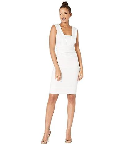 Nicole Miller Mercury Cotton Metal Dress (White) Women