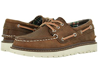 Sperry Kids AO Twisted Lug (Little Kid/Big Kid) (Dark Tan) Boy