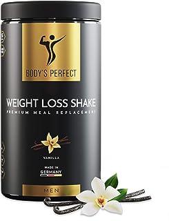 BODY'S PERFECT® Weight Loss Shake für Männer, Diät Shake zur Gewichtskontrolle..