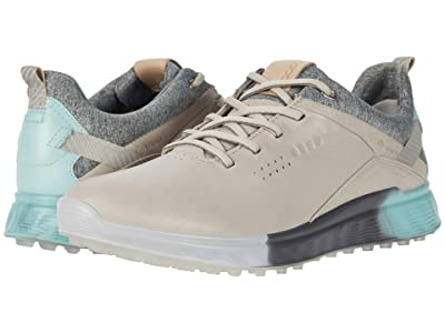 ECCO Golf S-Three GORE-TEX(r) (Gravel) Women