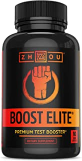 Zhou BOOST ELITE Test Booster | Formulated to Increase T-Levels & Energy | 30 Servings, 90 Veggie Caps