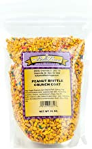 Peanut Brittle Crunch Coat Ice Cream Topping (1 lb. Resealable Zip Lock Stand Up Bag)