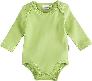 Bornino Bornino Basics Body langarm - einfarbiger Langarmbody für Babys mit Schlupfkragen & Druckknöpfen im Schrittbereich - reine Baumwolle