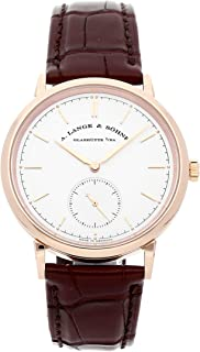 A. Lange & Sohne Saxonia Mechanical (Automatic) Silver Dial Mens Watch 380.032 (Certified Pre-Owned)