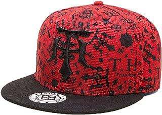 FayTop Fashion Snapback Hat Hip Hop Cap Flat Brim Baseball Cap Adjustable Dad Hat Trunker Hat Unisex