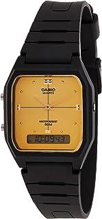 Quartz Resin Sport Watch, Color:Black (Model: AW48HE-9AV)