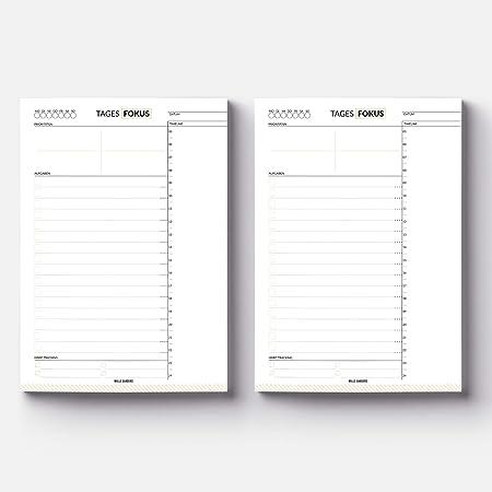 3-5 Monate optimalen Fokus : HeldenPlan Daily A5 Produktivit/ät Tagesplaner mit 100 undatierten Seiten f/ür ca Achtsamkeit /& Erfolg To Do Listen Block Premium Notizblock f/ür high performance
