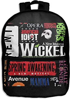 Best broadway musical backpack Reviews