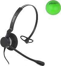 Jabra Biz 2300 Single Speaker Wired Headset Bundle with Renewed Headsets Stress Ball (Renewed)