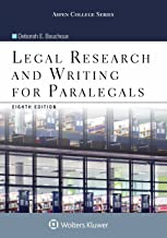 Legal Research and Writing for Paralegals (Aspen College) PDF
