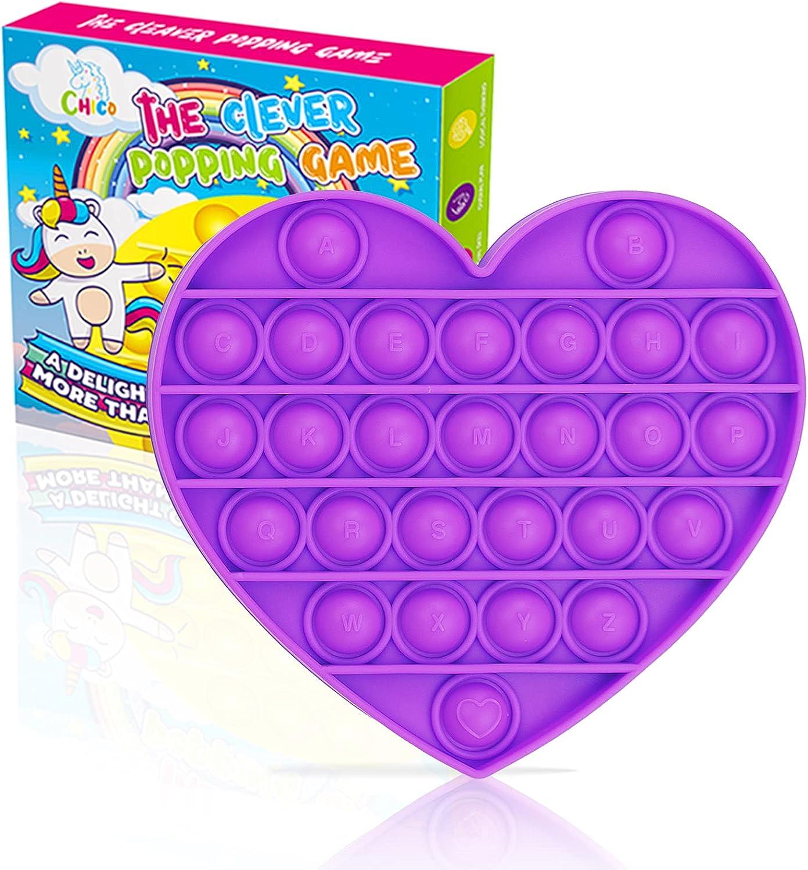 Push Pop Bubble Sensory Fidget Toy à Toys Safe Child – Kids Courier shipping Topics on TV free