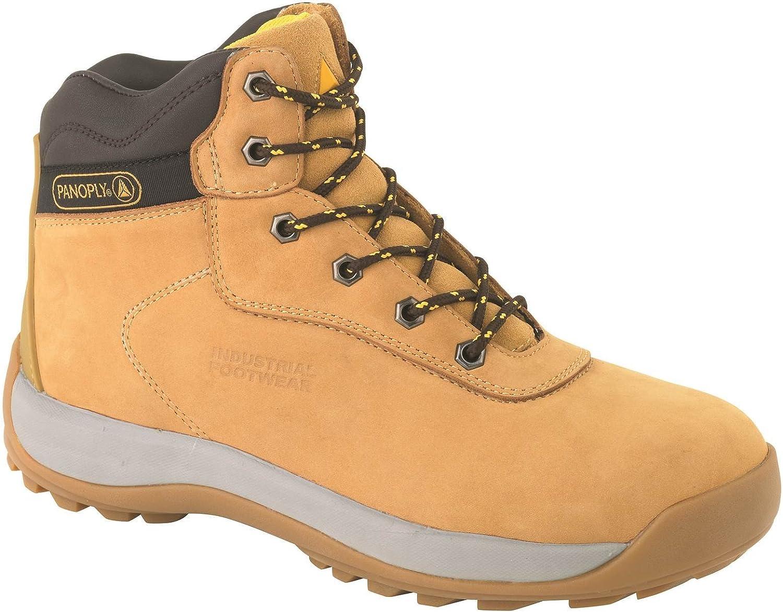 Deltaplus Men's Lh840Sm Sand Safety Boot Beige US Size 12