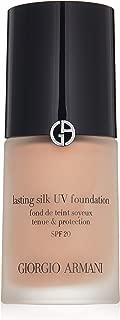 Giorgio Armani Lasting Silk Uv Foundation Spf 20, 7 Tan, 1 Ounce
