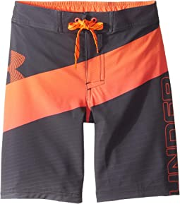 Vibron 1/2 Back Elastic Boardshorts (Big Kids)