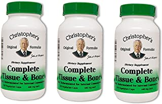 Dr. Christopher's Complete Tissue and Bone Formula 100 VegCap (pack of 3)