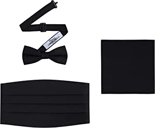 Best bow tie and cummerbund set silk Reviews