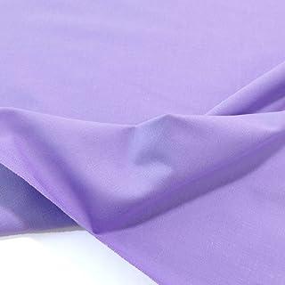 TOLKO Bauwollstoffe Sommer Batist aus 100% Baumwolle | weicher Nesselstoff als Modestoff Kleiderstoff Dekostoff | Meterware zum Nähen/Dekorieren Flieder