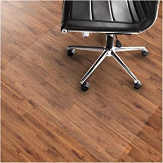 "Office Marshal PVC Chair Mat for Hard Floors – 36"" x 48"" 