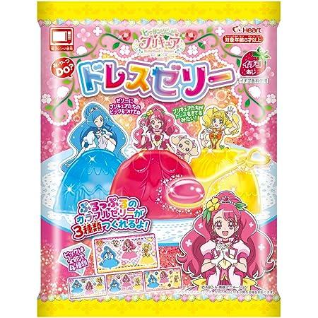 ハート ヒーリングっどプリキュアドレスゼリー 6入 食玩・手作り菓子(ヒーリングっどプリキュア)